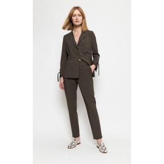 Deni Cler Milano Womans Trousers W-Ds-5201-0B-A5-48-1 dámské Green 36