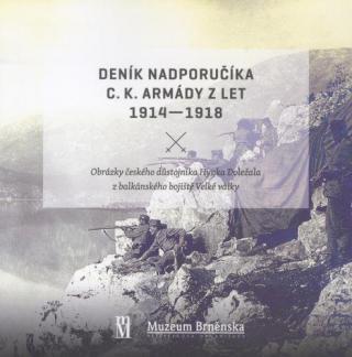 Deník nadporučíka c.k. armády z let 1914