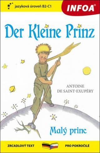Der Kleine Prinz/Malý Princ -- zrcadlový text pro pokročilé