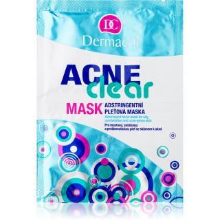 Dermacol Acneclear pleťová maska pro problematickou pleť, akné 2x8 g dámské 2x8 g