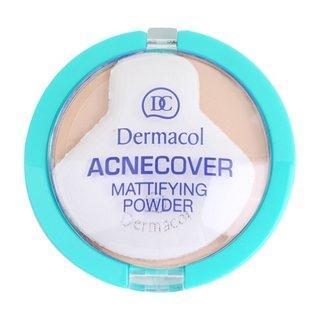 Dermacol ACNEcover Mattifying Powder No.03 Sand pudr pro problematickou pleť 11 g