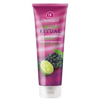 Dermacol Aroma Ritual antistresový sprchový gel hrozny a limetka 250 ml dámské 250 ml