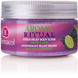 DERMACOL Aroma Ritual Grape & Lime Stress Relief Body Scrub 200 g