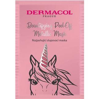 DERMACOL Beautifying Brightening Peel-Off Metallic Mask Brightening