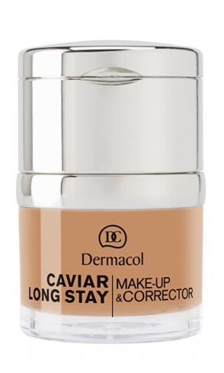 Dermacol Dlouhotrvající make-up s výtažky z kaviáru a zdokonalovací korektor  30 ml 00 Ivory dámské