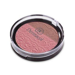 Dermacol Duo Blusher N. 01 pudrová tvářenka 2v1 8,5 g