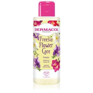 Dermacol Flower Care Freesia luxusní tělový výživný olej 100 ml dámské 100 ml