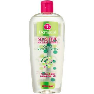 Dermacol Sensitive čisticí micelární voda pro citlivou pleť 400 ml dámské 400 ml