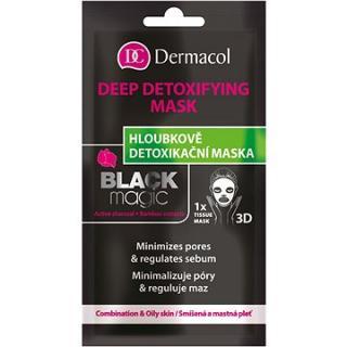 DERMACOL Tissue Detoxifying Mask Black Magic 15 ml