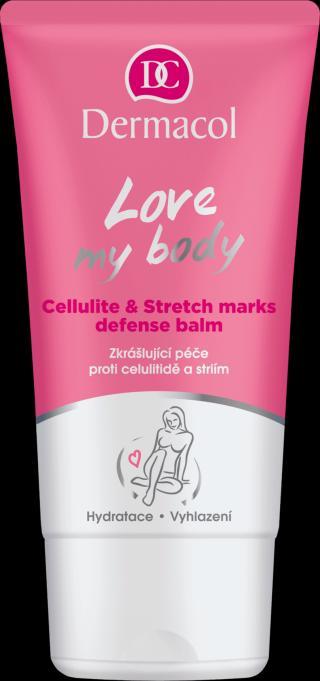 DERMACOL Zkrášlující péče proti celulitíde a striím Love my body růžová