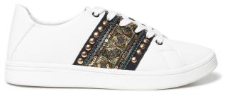 Desigual bílé tenisky Shoes Cosmic Exotic Gold - 36 dámské bílá 36
