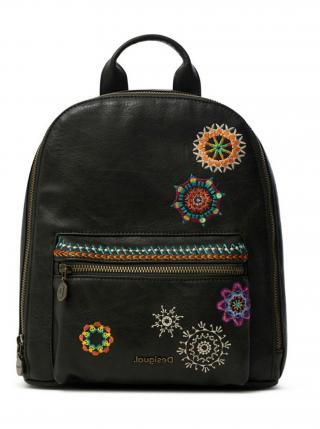 Desigual černý batoh Back Carlina Nazca Mini pánské černá
