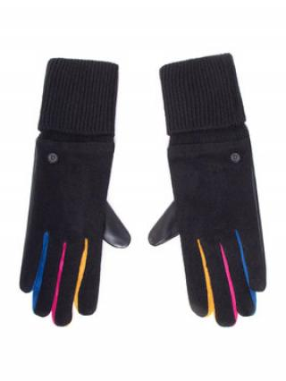 Desigual Dámské rukavice 20WAAK03 Černá 00