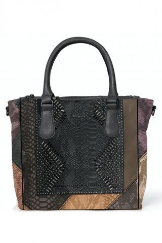 Desigual kabelka Bols Dark Phoenix Safi Medium dámské černá