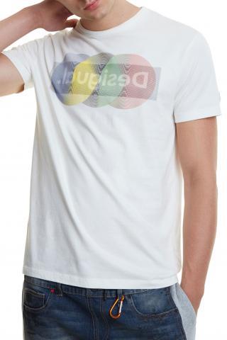 Desigual pánské tričko TS Karamat - XL pánské XL