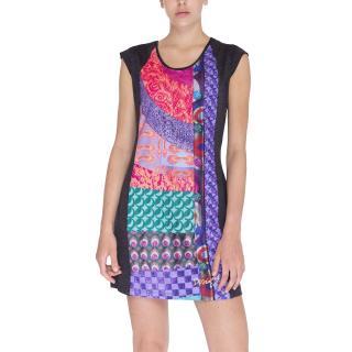 Desigual Šaty Woman Knitted Dress Short Sleeve dámské Other M