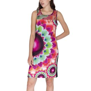 Desigual Šaty Woman Knitted Dress Sleeveless dámské Other M