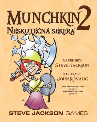 Desková karetní hra Munchkin 2: Neskutečná sekera v češtině
