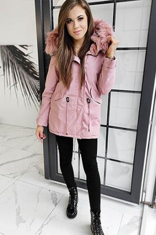 DESTONS pink womens parka jacket TY1306 dámské Neurčeno S