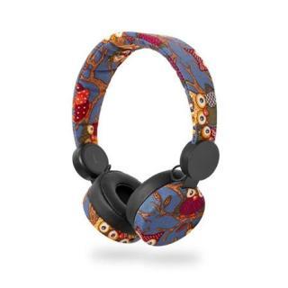 Dětská drátová sluchátka Nedis HPWD4101BK Sova černá