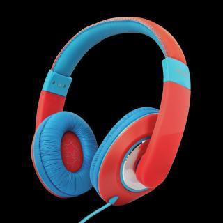 Dětská sluchátka TRUST Sonin Kids Headphones, červená