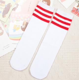 Dětské barevné ponožky s pruhy - 5 variant Velikost: 1-3 roky, Varianta: A