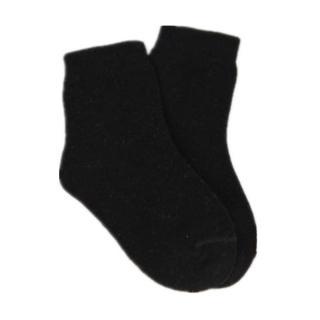 Dětské kotníkové ponožky  - 6 barev Barva: černá, Velikost: 1-3 roky
