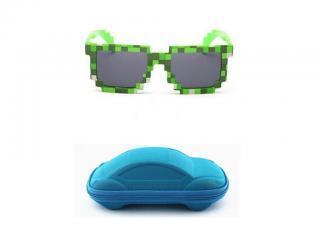 Dětské sluneční brýle A1295 Barva: modrá