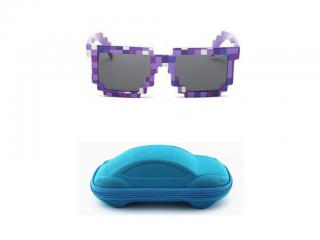Dětské sluneční brýle A1297 Barva: modrá