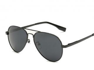 Dětské sluneční brýle s tenkými obroučky -  6 barev Barva: černá