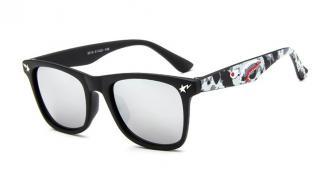 Dětské sluneční brýle s UV 400 - 6 barev Barva: bílá