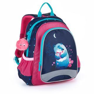 Dětský batoh na výlety či kroužky Topgal SISI 21023 G,Dětský batoh na výlety či kroužky Topgal SISI 21023 G dámské 32 cm