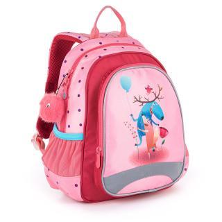 Dětský batoh na výlety či kroužky Topgal SISI 21024 G,Dětský batoh na výlety či kroužky Topgal SISI 21024 G dámské 32 cm