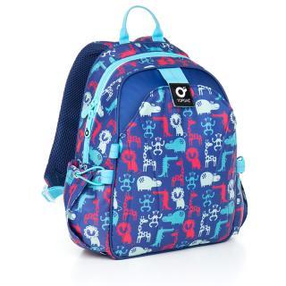 Dětský batoh Topgal CHI 839 D - Blue,Dětský batoh Topgal CHI 839 D - Blue pánské 32 cm