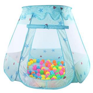 Dětský stan pro nejmenší - 2 barvy Barva: modrá