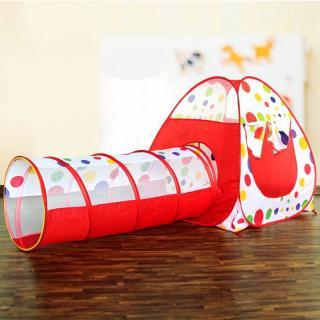 Dětský stan s tunelem - Puntík