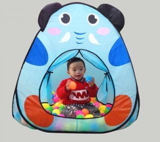 Dětský stan - Zvířátko - 2 varianty Barva: modrá