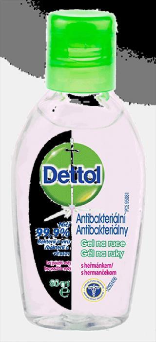 DETTOL Antibakteriální gel na ruce s heřmánkem  zelená