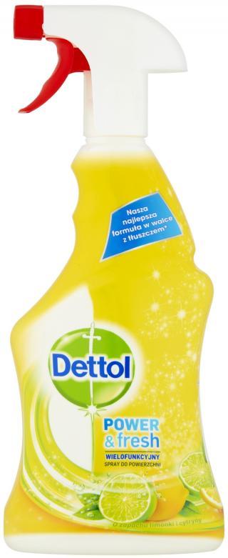 DETTOL Antibakteriální sprej na povrchy 500 ml – Citron a Limeta mix barev