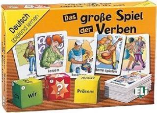 Deutsch Spielend Lernen: Das Grosse Spiel Der Verben
