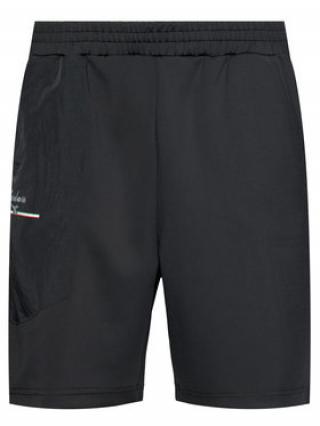 Diadora Sportovní kraťasy Urbanity 502.176981 Černá Comfort Fit pánské S