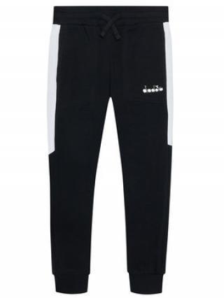 Diadora Teplákové kalhoty Diadora Club 102.177129 Černá Regular Fit XS