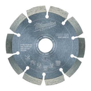 Diamantový řezací kotouč profesionální Milwaukee DUH 125x22,2mm