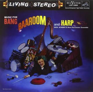 Dick Schory Music For Bang, Baaroom and Harp  Black