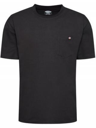 Dickies T-Shirt Porterdale DK0A4TMOBLK Černá Regular Fit pánské S