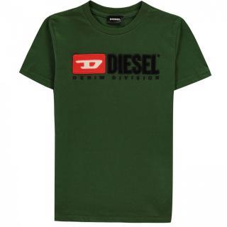 Diesel Boys Division T Shirt pánské Other 10-11 Y