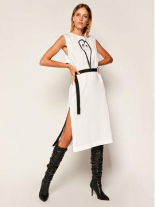 Diesel Každodenní šaty D-Fairy A00112 0HAXP Bílá Regular Fit dámské M