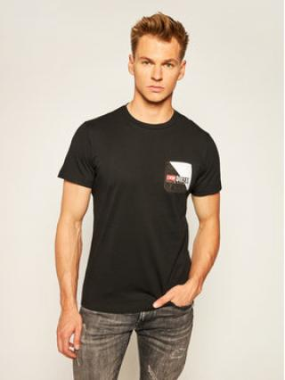 Diesel T-Shirt Bm0wt-Diego 00SY99 0HAYF Černá Regular Fit pánské S