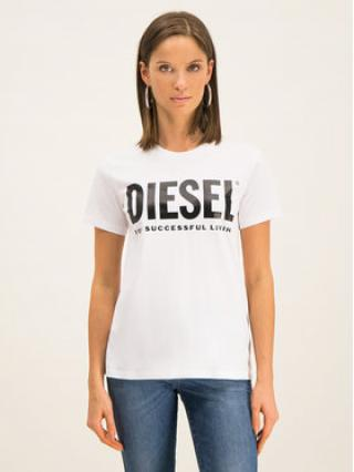 Diesel T-Shirt T Sily 00SYW8 Bílá Regular Fit dámské M