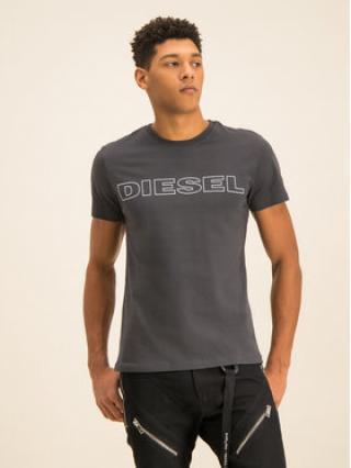 Diesel T-Shirt UMLT-Jake 00CG46 0DARX Šedá Regular Fit pánské M
